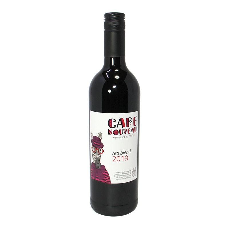 【新酒アフリカワイン】KWVケープ・ヌーボ赤2019